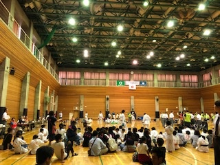 尾張旭市・瀬戸市の合同市民総合体育大会空手道競技大会に参加致しました。
