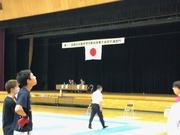 第71回西日本医科学生総合体育大会空手道競技に審判員として参加しました。