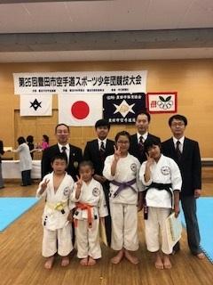 5月6日 豊田市スポーツ少年団の大会が開催されました。